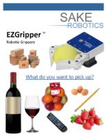 EZGripper Gen2 Robotic Grippers – SAKE Robotics